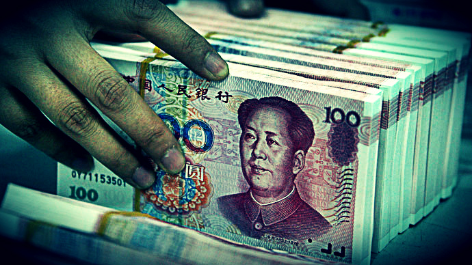 Falling value of Yuan